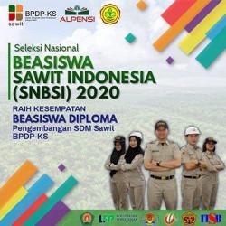 Kabar Gembira, Beasiswa SDM BPDPKS Tahun 2021 Untuk Pekebun Sawit, PNS  dan P3K Perkebunan kelapa Sawit
